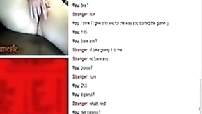 33yo Girl Plays A Sex Game On Omegle