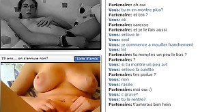 Horny french teen on chatroulette